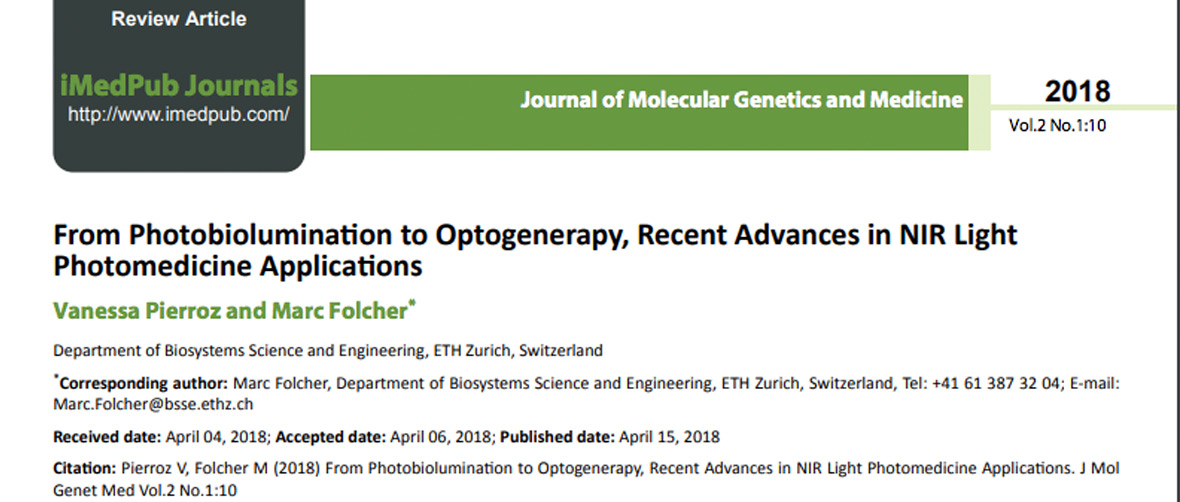 Optogenerapy Journal Genetics Medicina